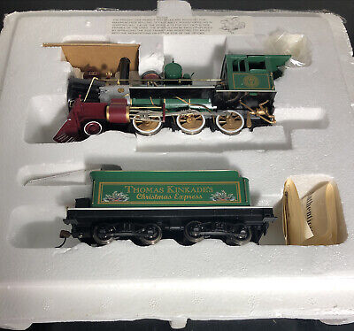 Hawthorne Village Thomas Kinkade Christmas Express Bachmann Train Set 0N30 scale
