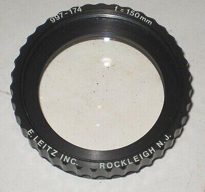 Leitz Wild Heerbrugg 150mm Microscope Lens