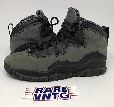 386d38da5869db OG 1994 Nike Air Jordan X 10 Shadow Sneakers Size 5Y DEADSTOCK W  BOX  Vintage