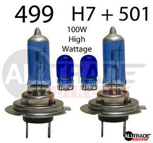 H7-BLUE-XENON-499-HID-12v-100w-501-HIGH-WATTAGE-CAR-VAN-477-HEADLIGHT-BULBS