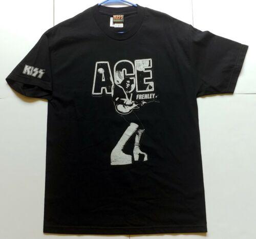 KISS Band Ace Frehley Japan Japanese T-Shirt Destroyer Tour 2009 Shirt UNWORN