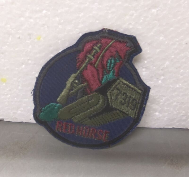 U.S. Air Force – 7319 Red Horse Embroidered Patch