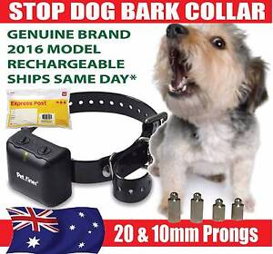 STOP DOG BARKING SHOCK COLLARS - AUTOMATIC  * RECHARGEABLE Banyo Brisbane North East Preview