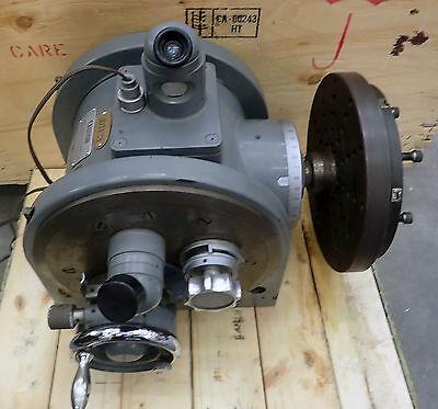Leitz Opto-metric 8 34 Ultra High Precision Dividing Head Rotary Indexer