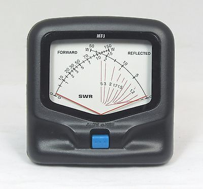 MFJ-822 HF/VHF SWR/Wattmeter - 1.8 to 200 MHz 30/300 Watts. Base mobile ham . Buy it now for 69.95