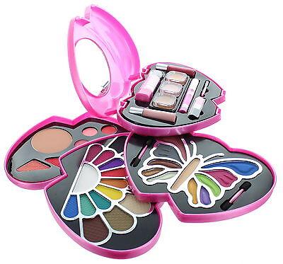 Perfect Gift: ETA Pink Double Heart Glamour Girl Makeup Color Kit BR  - Glamour Girl Makeup
