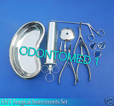 Ent Surgical Instruments Set Of 21 Pcs Ds-963