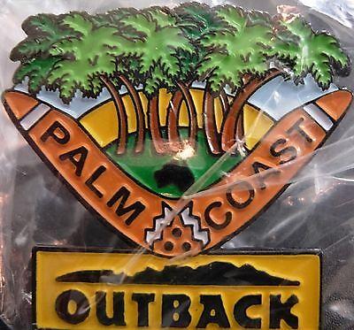 J4225 Outback Steakhouse Palm Coast hat lapel pin
