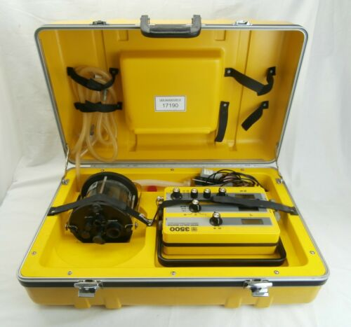 YSI 3500 Water Quality Monitor Temperature Conductivity pH-mV 3550 Chamber Used