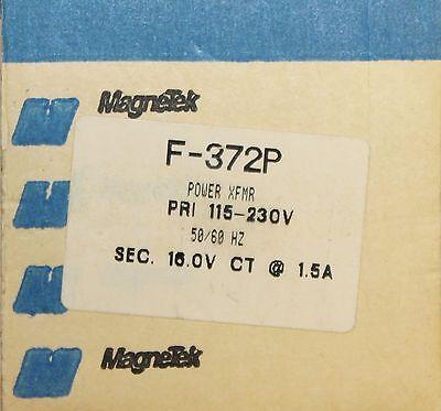 Magnetek Triad Transformer F 372p 1.5 Amp Primary 115-230v 8-16v Secondary
