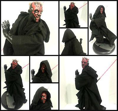 Star Wars Custom Jedi Robe ONLY ! for Sideshow Darth Maul 1/6 scale Statue
