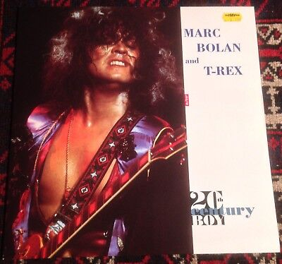 "MARC BOLAN and T-REX 20th century boy*midnight*the groover 1991 UK 12"" EP"