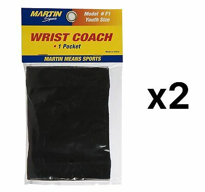 New Martin Sports Football Quarterback Adult Wrist Coach Stores Plays White New