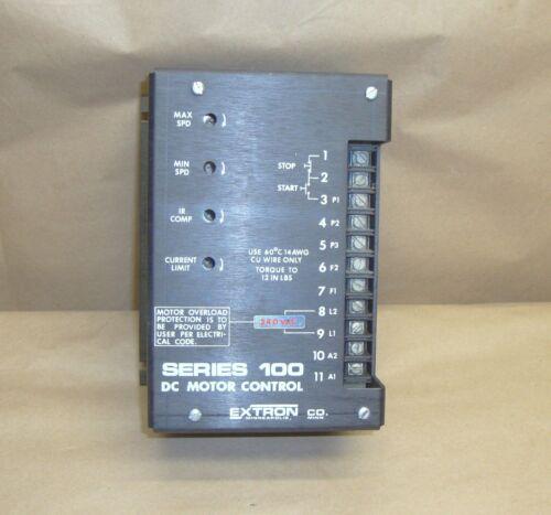 Extron Series 100 DC Motor Control Model 100-30