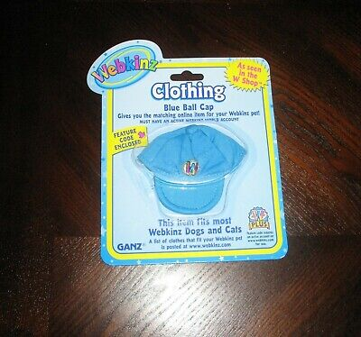 Webkins Clothing_Blue Ball Cap__New in Package with