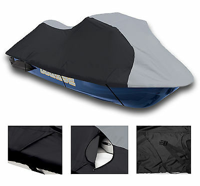 Yamaha Wave Runner XL 1200 WaveRunner Grey/Black Jet Ski PWC Cover 1998-2000