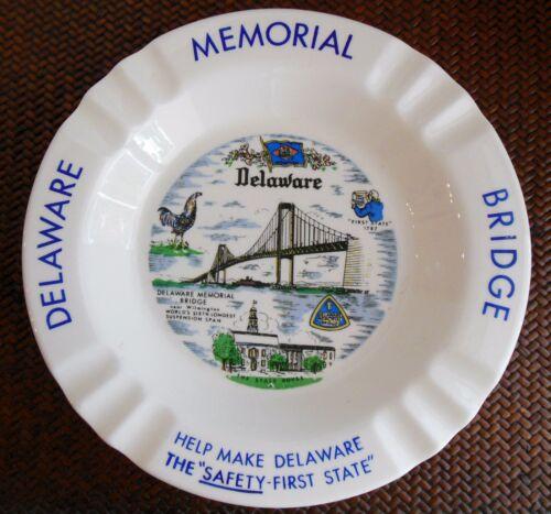 Vintage Delaware Memorial Bridge Ashtray 1960