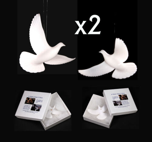 HOME ALONE DOVES DELUXE 2 BOX version 2 PAIR OPTION AUTHENTIC from JOHN PERRY