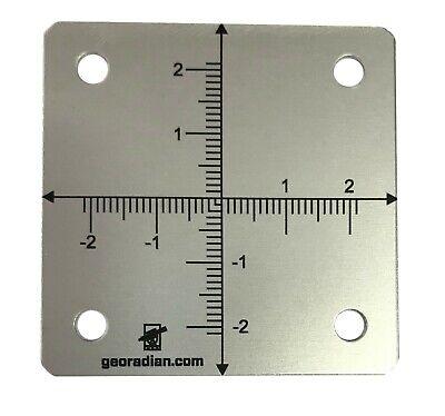 10pcs. Survey Monitoring Targets Aluminium For Total Station Prism Georadian