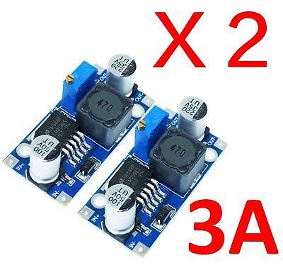 2pcs Lm2596 Dc-dc Adjustable Buck Converter Step Down 1.23v-30v Ca