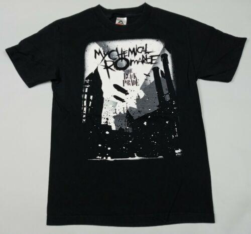 2007 My Chemical Romance Black Parade Tour T-Shirt S 2-Sided Tragic Affair