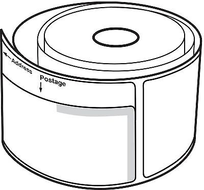 48 Rolls Of Dymo Labelwriter Compatible 30384 2-part Postage Labels 150 Pr