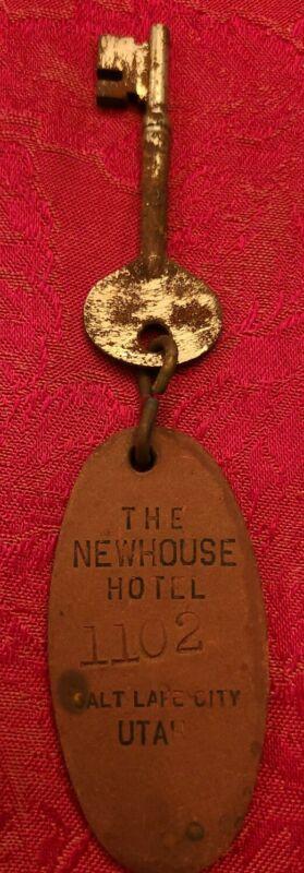 The Newhouse Hotel Salt Lake City Utah Room Key and Fob