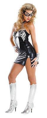 Spider-Girl Schwarz Geeignet Sassy Weiblich Erwachsene Kostüm Marvel (Comic Girl Kostüm)