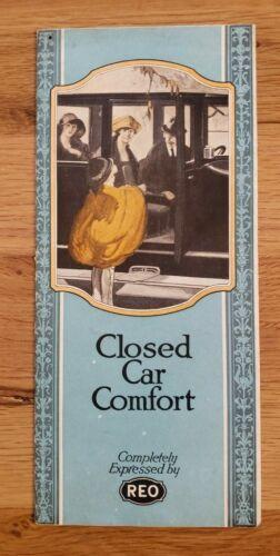 1923 REO Closed Car Sales Brochure