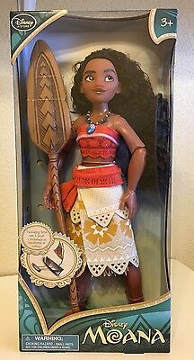 Disney Store Exclusive Authentic Moana Classic 11  Inch Doll   New