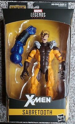 In Hand X-Men Marvel Legends Apocalypse Series Sabretooth Action Figure 6