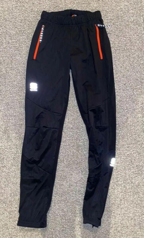 Sportful XC Cross Country Ski Youth Engadin Pant Black Size 12