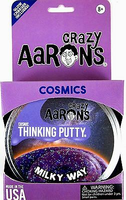 Milky Way Crazy Aarons Thinking Putty Cosmic Glow In The Dark Glitter Purple 4