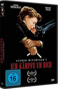 Hitchcock-ICH-LOTTA-A-DICH-Ingrid-Bergman-PECK-GREGORY-ti-salvero-DVD-nuovo