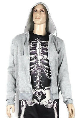 Donnie Darko Skeleton SET (Suit + Hoodie) Coat Adult Costume Halloween - Donnie Darko Costume Skeleton