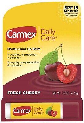 Carmex Click-Stick Moisturizing Lip Balm SPF 15 Cherry 0.15