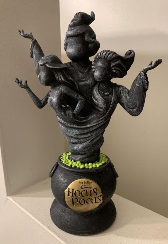"NEW Disney HOCUS POCUS Sanderson Sisters Statue SPIRIT HALLOWEEN 10"" Movie"
