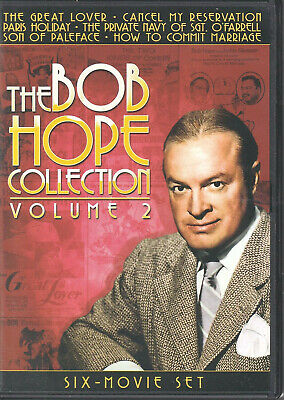 THE BOB HOPE COLLECTION - Vol. 2 (DVD 2011 3-Disc Set) (H2)