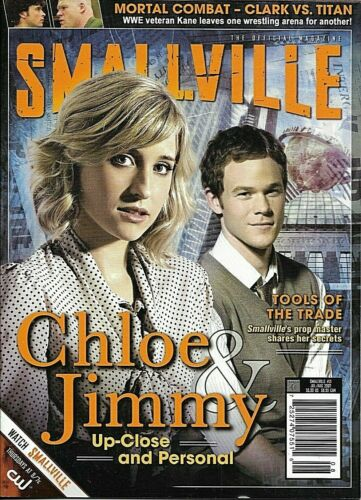 Smallville Official Magazine #21/Tom Welling/Perry White/Kane/Allison Mack