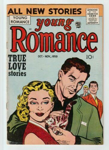 Young Romance #102 Golden Age Comic Book 1959 Rare, FN