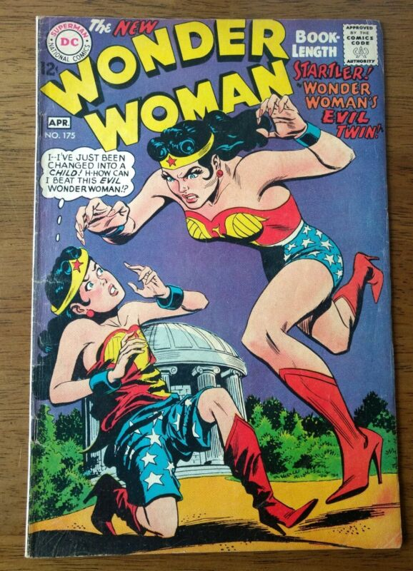Wonder Woman #175. 1968 DC Comics
