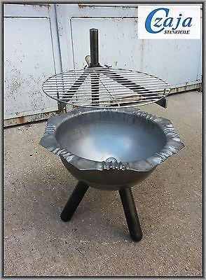 Feuerschale Ø 40 cm Venedig mit Grillrost FS 2411G