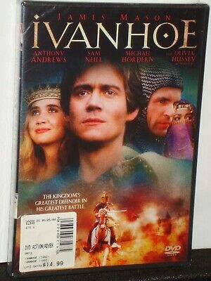 Ivanhoe 1982 James Mason Sam Neill DVD 2009