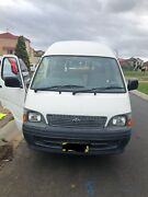 2004 Toyota Hiace Commuter 120 Series Blair Athol Campbelltown Area Preview
