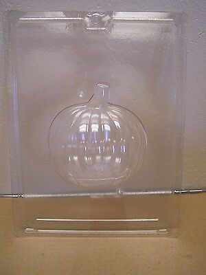 3D Plastic 2Piece Craft Mold - Pumpkin - Papier Mache, Plaster, Clay - Halloween