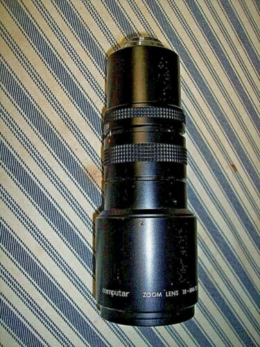 Computar ZOOM LENS 18-108mm /  Japan 2.5 C-MOUNT TV Zoom Lens