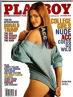 PLAYBOY MAGAZINE October 2004 DONALD TRUMP INTERVIEW Women Money Hair NM Unread
