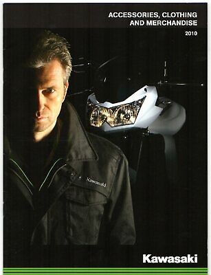 Kawasaki Motorcycle Accessories & Merchandise 2010 UK Market Sales Brochure