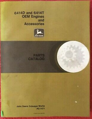 John Deere 6414d 6414t Oem Engines And Accessories Parts Catalog