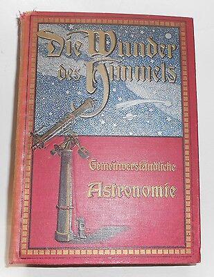 Buch Die Wunder des Himmels, Gemeinverständliche Astronomie v. L.L. von Littrow